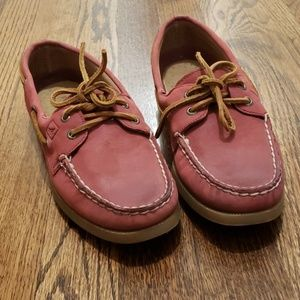 NWOT SPERRY Top-Sider Red Loafe
